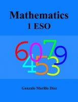 mathematics 1 ESO textbook in simple English